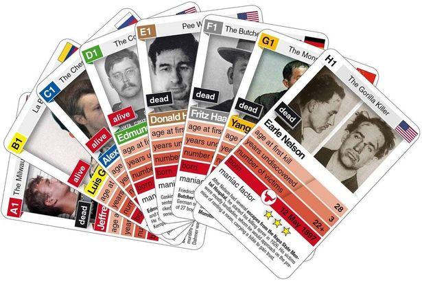 ドイツ 殺人鬼 シリアルキラー カードゲーム 悪趣味 批判殺到に関連した画像-03