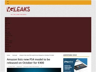 PS4NEO 発売日 10月に関連した画像-03