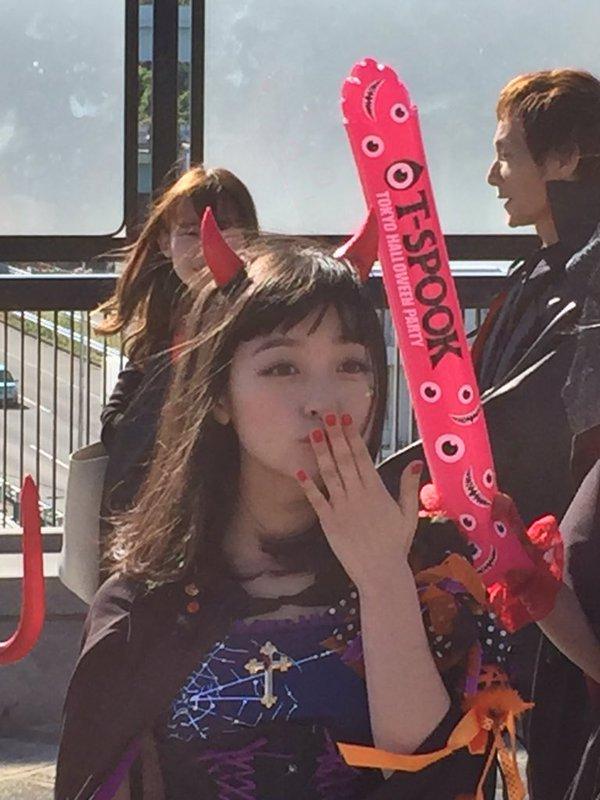 ハロウィン お台場 橋本環奈 アイドル パレードに関連した画像-05