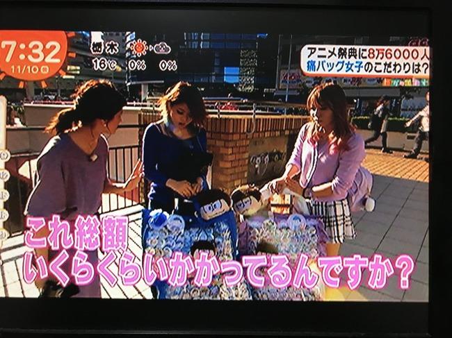 めざましテレビ 痛バッグ 特集 総額 100万円に関連した画像-07