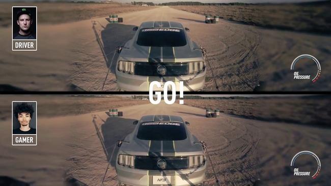 ゲーマー プロドライバー レースゲーム 後方視点 実車 再現 勝負に関連した画像-01