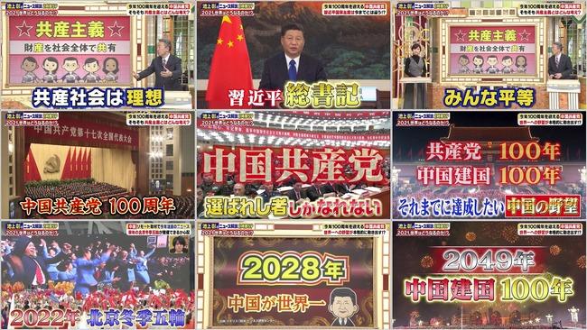 池上彰 テレビ朝日 嘘 中国 ウイグル トランプ前大統領 バイデン大統領に関連した画像-02