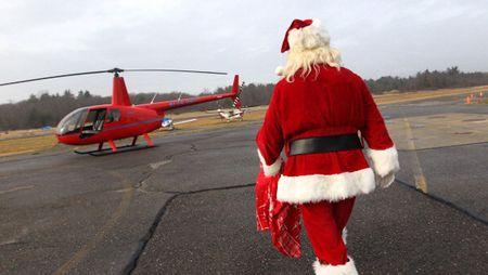 サンタクロース ヘリコプターに関連した画像-01