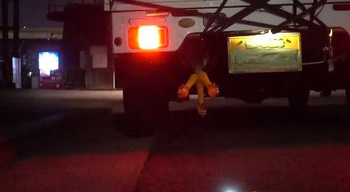びっくりチキン 軽トラ 排気口 自動車 ユーチューバーに関連した画像-04