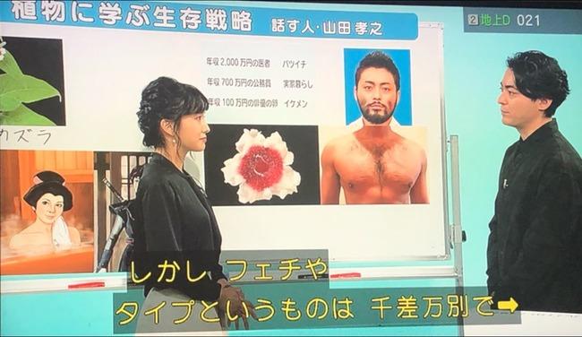 NHK Eテレ 植物に学ぶ生存戦略 山田孝之 胸毛 ヘクソカズラに関連した画像-05