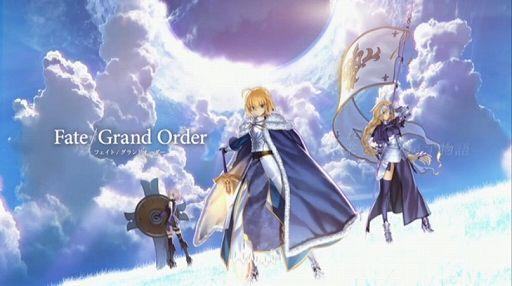 Fate GrandOrder 配信 メインビジュアル スマートフォン アプリ 奈須きのこ フェイトに関連した画像-01