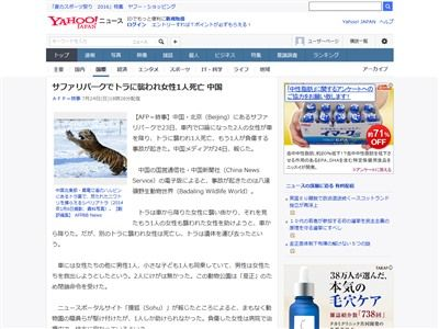 トラ 死亡 中国に関連した画像-02