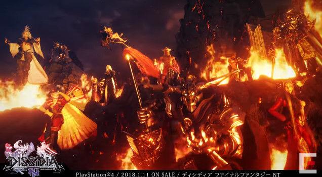 ディシディアファイナルファンタジーNT アーケード PS4版 オープニングに関連した画像-03
