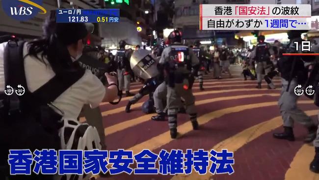 中国 香港 国家安全維持法 民主主義 選挙 違法に関連した画像-01