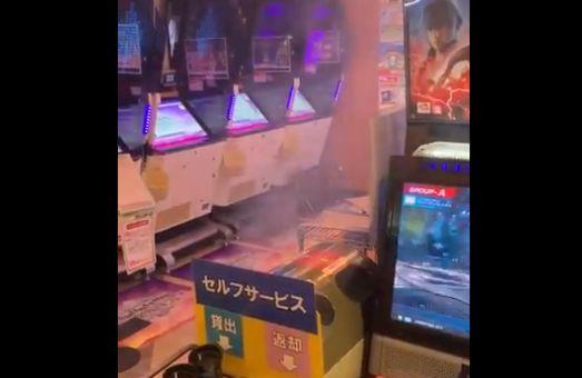 ゲーセン ゲームセンター 火事 ガンダムに関連した画像-01