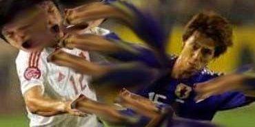 サッカー ラフプレー 韓国 キム・ミンヒョクに関連した画像-01