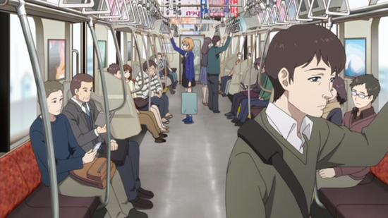 電車の座席に座ると冷たい違和感とニオイが → 触って確認すると・・・ うわぁあああああ