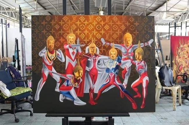 コラート 女子大生 作品 ウルトラマン ブッダ 土下座に関連した画像-02