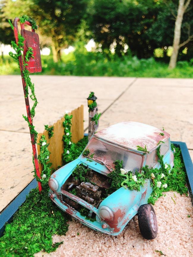 夫 プラモデル 壊れる 捨てる 妻 リメイク クオリティ高いに関連した画像-04