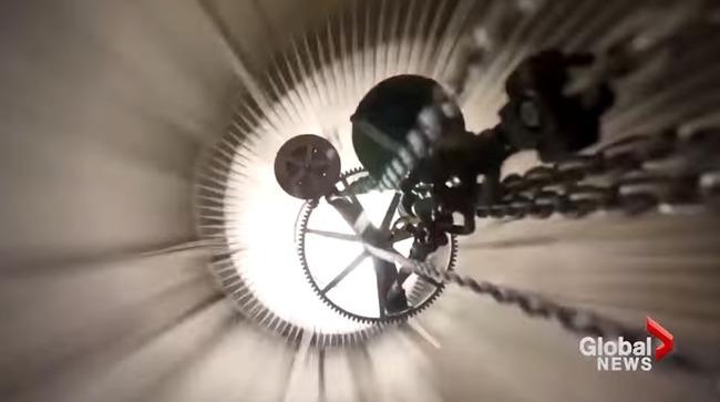 【動画】アマゾン創業者、人類の文明崩壊後も時を刻み続ける巨大時計の建設を開始!