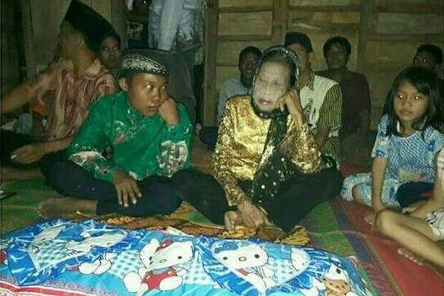 年の差 結婚 71歳 16歳 純愛 インドネシアに関連した画像-04