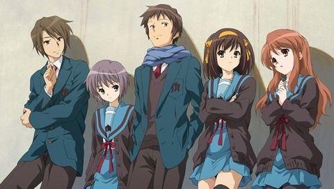 オタク アニメ 涼宮ハルヒの憂鬱 画期的 京アニに関連した画像-01