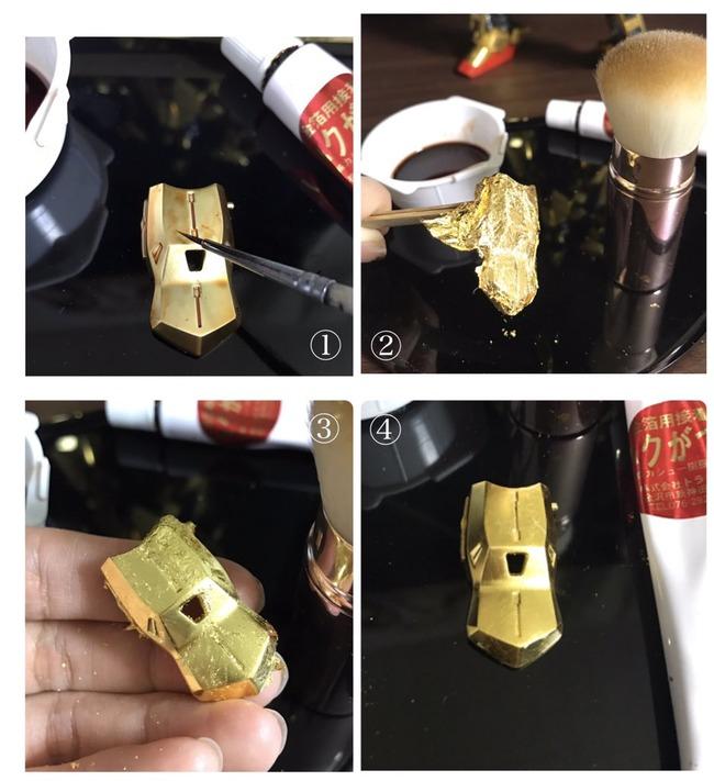 金 純金 ガンプラ 百式に関連した画像-05