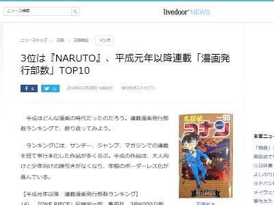 漫画 ワンピース 名探偵コナン NARUTOに関連した画像-02
