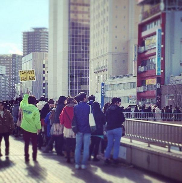 アニメイト 仙台 入場規制に関連した画像-05
