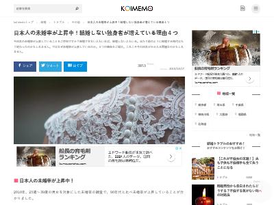 日本人 未婚率 独身者 独身主義者 収入格差に関連した画像-02