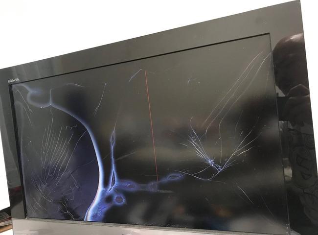 クロちゃん 自宅 テレビ 破壊に関連した画像-07