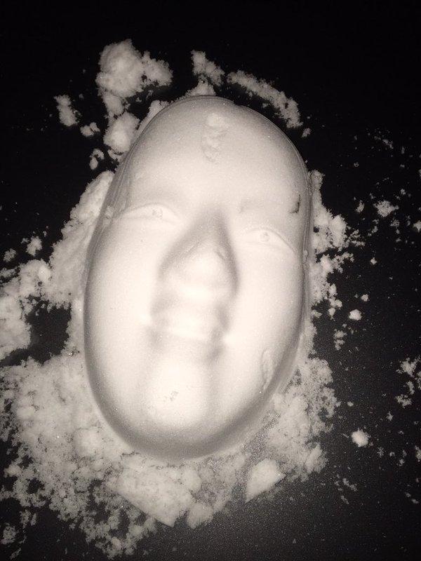 雪だるま イタズラ 不気味に関連した画像-04