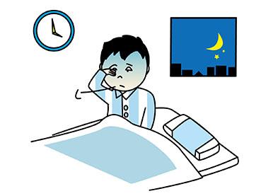 早朝覚醒 早起き 睡眠障害 うつ病に関連した画像-01