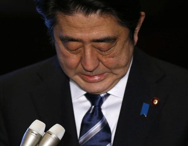 【悲報】安倍総理、アンチさんのせいでもはや泣くことすら許されない