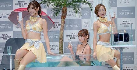 東京ゲームショウ TGS コンパニオン サイバーコネクトツー 松山洋に関連した画像-01