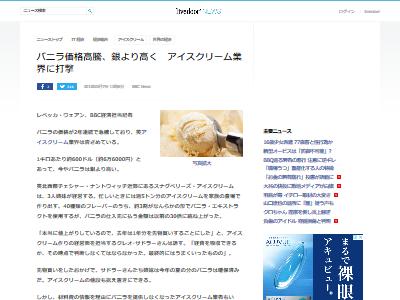バニラ 高騰 アイスクリームに関連した画像-02