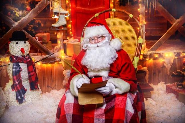 サンタクロース 子供 プレゼント クリスマスに関連した画像-01