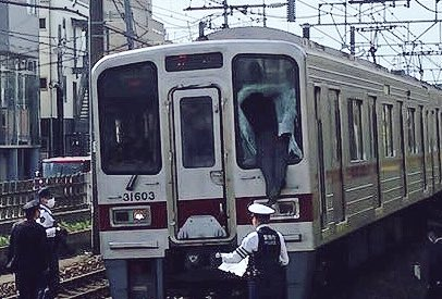 電車 飛び込み 窓 突き破る 駅 人身事故に関連した画像-03