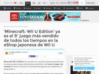 WiiU マインクラフト ダウンロード ランキングに関連した画像-02
