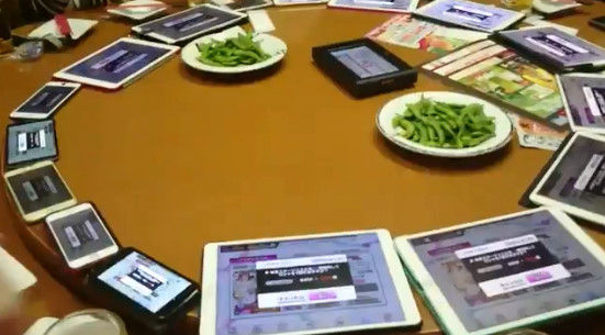 オタク ガチャ 中華テーブル ターンテーブル デレステ アイマス 二次会に関連した画像-02