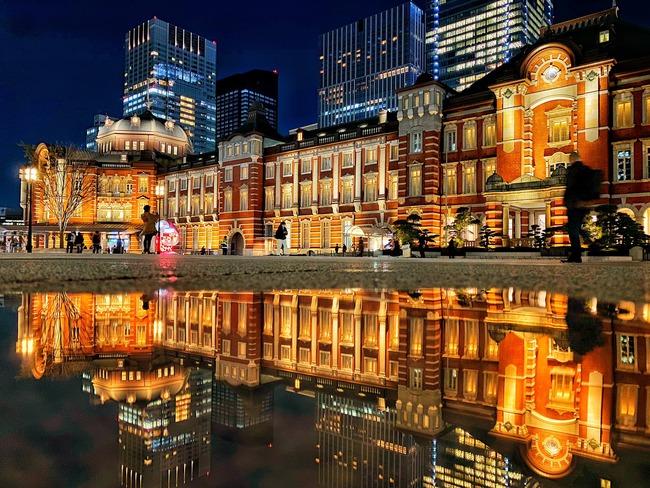 下敷き iPhone 東京駅に関連した画像-01