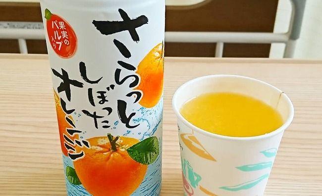 さらっとしぼったオレンジ セブンイレブン コンビニに関連した画像-01