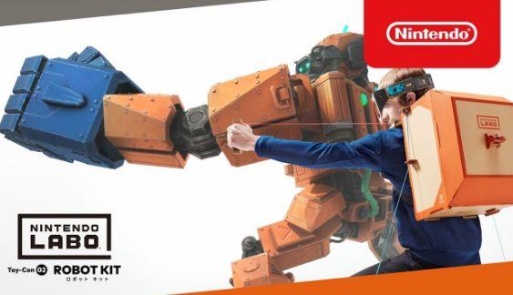 ニンテンドーラボ ニンテンドースイッチ ロボット 任天堂に関連した画像-01