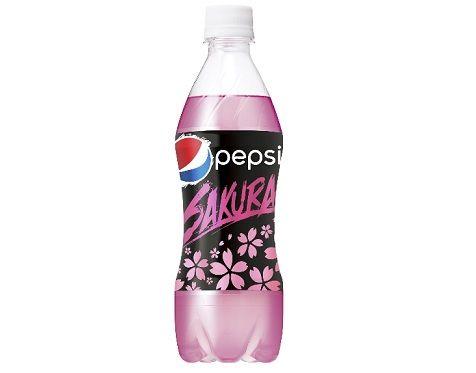 ペプシ コーラ 桜 SAKURA 新商品 ピンクに関連した画像-01