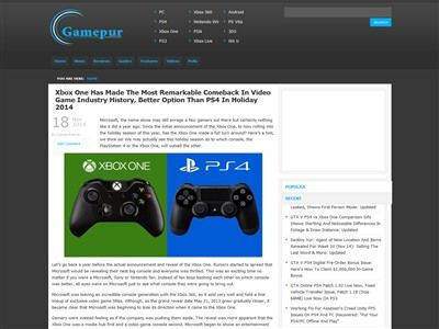 PS4 XboxOneに関連した画像-02