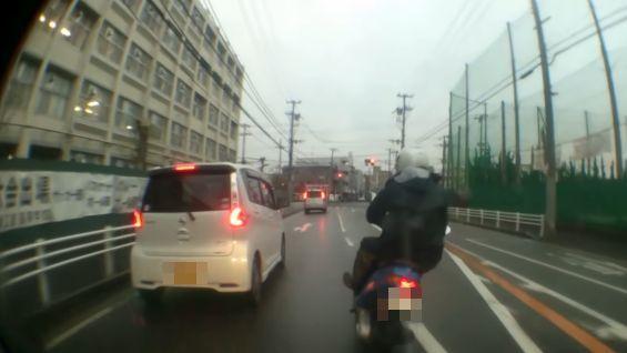 あおり運転 スクーター 末路に関連した画像-01