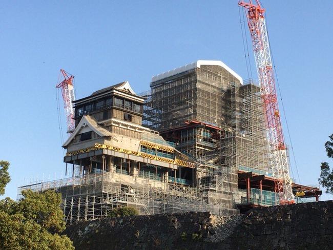 熊本城 修復 ハイテクに関連した画像-02