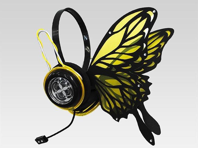 magnet ヘッドホン 蝶々 ボカロに関連した画像-02