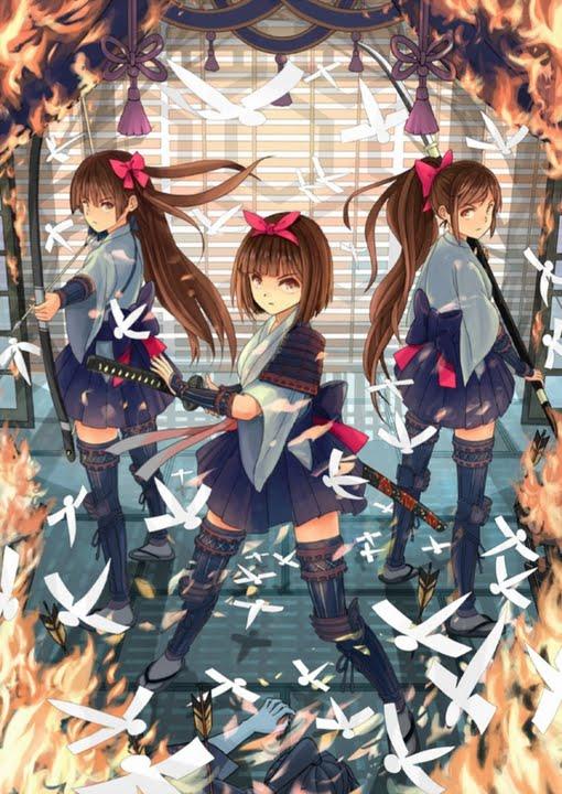 刀少女狩り 十一本刀->画像>549枚