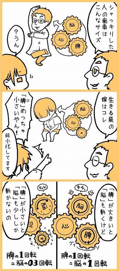 精神 栄養 脳 漫画 不眠 ストレスに関連した画像-05