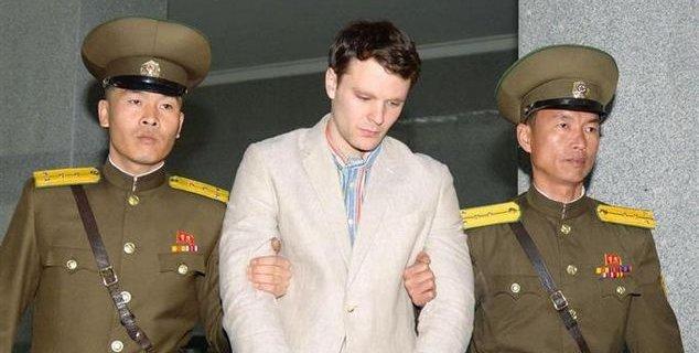 北朝鮮 アメリカ人 大学生 拘束 解放 意識不明 脳細胞 損傷に関連した画像-01