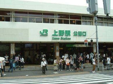 上野駅_改札