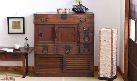 開かずの扉 和箪笥 タンス メルカリ 出品 購入者 解錠 貴重品 大量に関連した画像-01