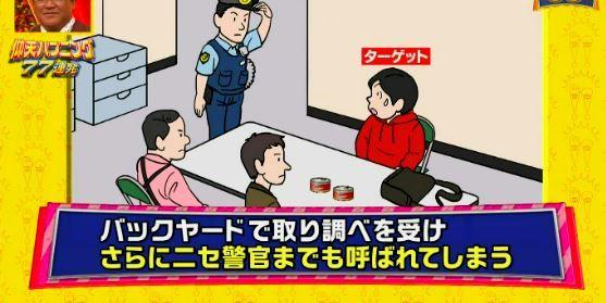 仰天ハプニング フジテレビ ドッキリ 万引き 冤罪 炎上 的場浩司に関連した画像-05