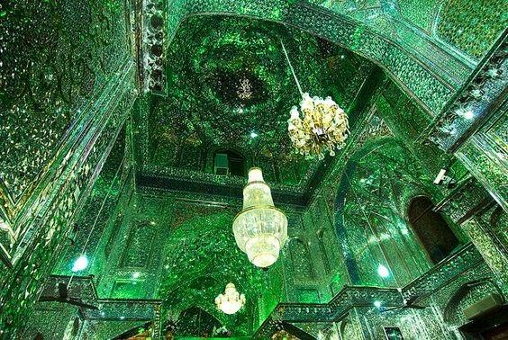 イラン シャー・チェラーグ廟 綺麗に関連した画像-05